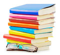 Books isolated Royalty Free Stock Images