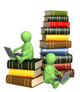 Books online Stock Photography
