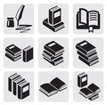 Books set Stock Images