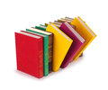 Books standing Royalty Free Stock Photo
