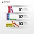 Books step business education infographics. Vector illustration