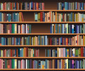 Bookshelf Stock Images