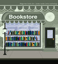 Bookstore located on the city streets Stock Photography