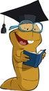 Bookworm Royalty Free Stock Photo