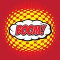 BOOM! comic word