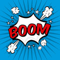 Boom comics icon Stock Photo