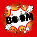 Boom comics icon Royalty Free Stock Photo