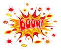 Boom comics icon vector illustration Royalty Free Stock Photos