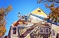 Boom Crane Building Construction Royalty Free Stock Photo