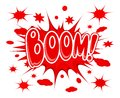 Boom explosion icon vector illustration Royalty Free Stock Image