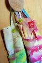 Boomerang Bags Royalty Free Stock Photo