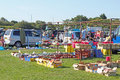 Boot Fair Royalty Free Stock Image