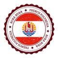 Bora Bora flag badge.