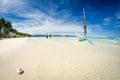 Boracay Beach Royalty Free Stock Photo