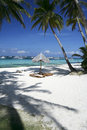 Boracay island blue sky white beach philippines Royalty Free Stock Photo