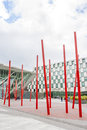 Bord gais energy theatre in dublin ireland june ireland on june square at the grand canal dock south Royalty Free Stock Photo