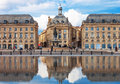 Bordeaux - Place de la Bourse Royalty Free Stock Photo