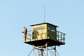 Border Guard watchtower Royalty Free Stock Photo