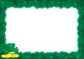 Border  for St. Patricks Day Royalty Free Stock Image