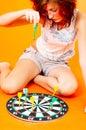 Bored Teenage Girl - 2 Royalty Free Stock Photo