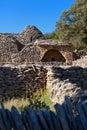 Bories village in Gordes, Luberon Provence, France Royalty Free Stock Photo