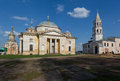Boris and glebs cathedral in borisoglebsky monaste monastery torzhok the tver region Stock Images