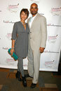 Boris Kodjoe, Nicole Ari Parker Stock Photo