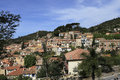 Bormes les Mimosas village, Provence, France Stock Photography
