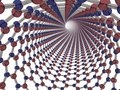 Boron Nitride Nanotube Royalty Free Stock Photo