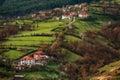 Borovitsa village, Eastern Rhodopes, Bulgaria Royalty Free Stock Photo