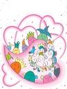 Borrow Love Royalty Free Stock Photo
