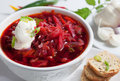 Borsch Soup Royalty Free Stock Image