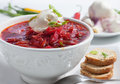 Borsch Soup Royalty Free Stock Photo