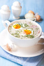 Borscht for Easter. Polish Cuisine Stock Image