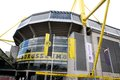 Borussia dortmund borusseum stadium entrance to football germany Royalty Free Stock Photo
