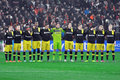 Borussia Dortmund ensemble Photo libre de droits
