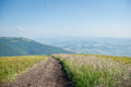 Borzhava  (Carpathian mountains, Ukraine). Stock Photography