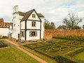 English Country House and Garden Royalty Free Stock Photo