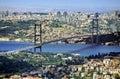 Bosphorus bridge Royalty Free Stock Photo