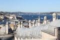 Bosphorus Strait in Istanbul City Royalty Free Stock Photo
