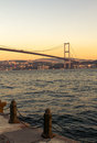 The bosporus bridge istanbul a view of turkey Stock Photo