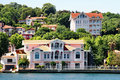 Bosporus residences Royalty Free Stock Photo