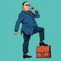 Boss business people