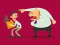 Boss dismisses employee