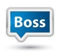Boss prime blue banner button