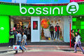 Bossini apparel outlet, hong kong Stock Image