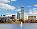 Boston Back Bay Royalty Free Stock Photo