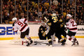 Boston Bruins v. New Jersey Devils (NHL Hockey) Royalty Free Stock Photos