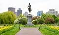 Boston Common Royalty Free Stock Photo