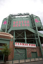 Boston Fenway Park Royalty Free Stock Photo